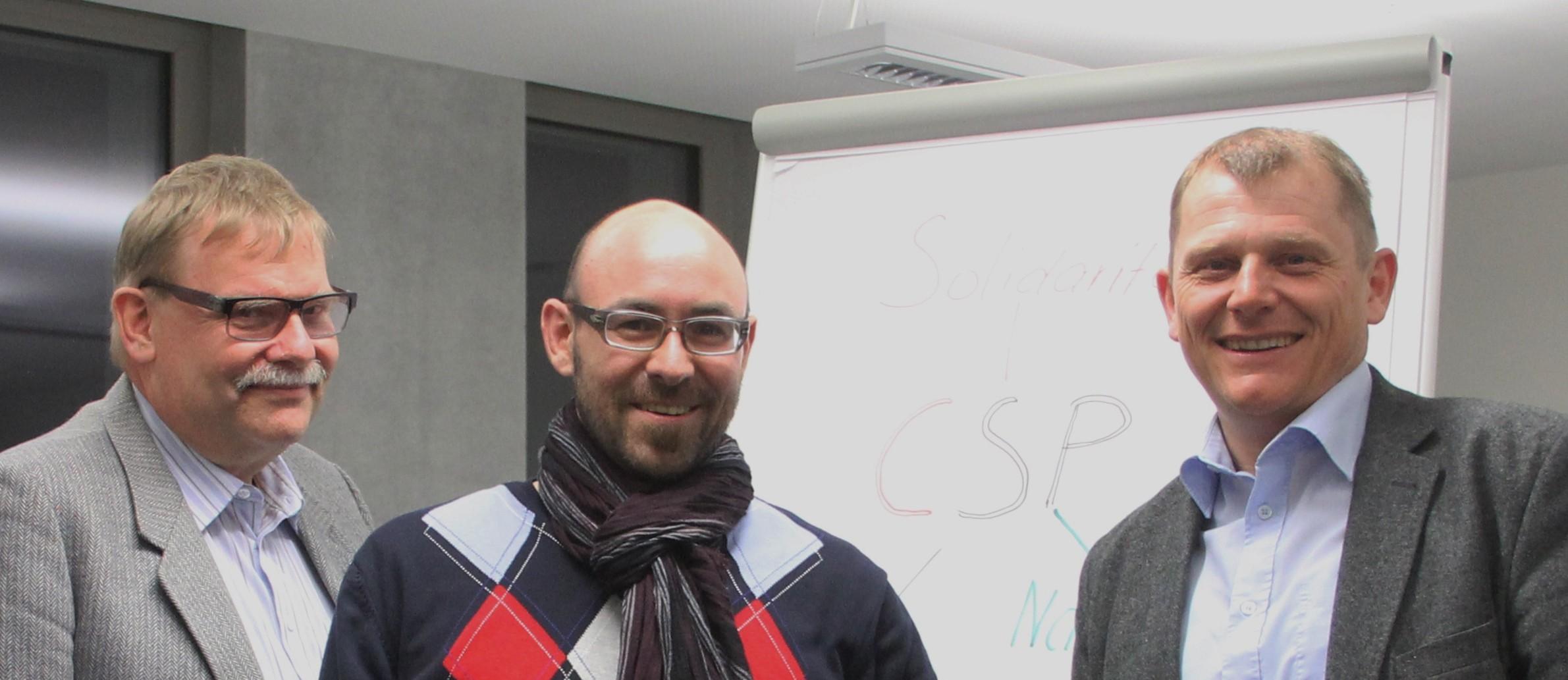 Frischer Wind für Vorstand der CSP Kanton St.Gallen