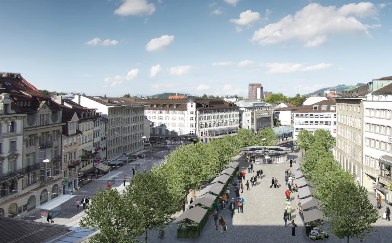 Leserbrief: Mehrwert dank Marktplatz-Neugestaltung