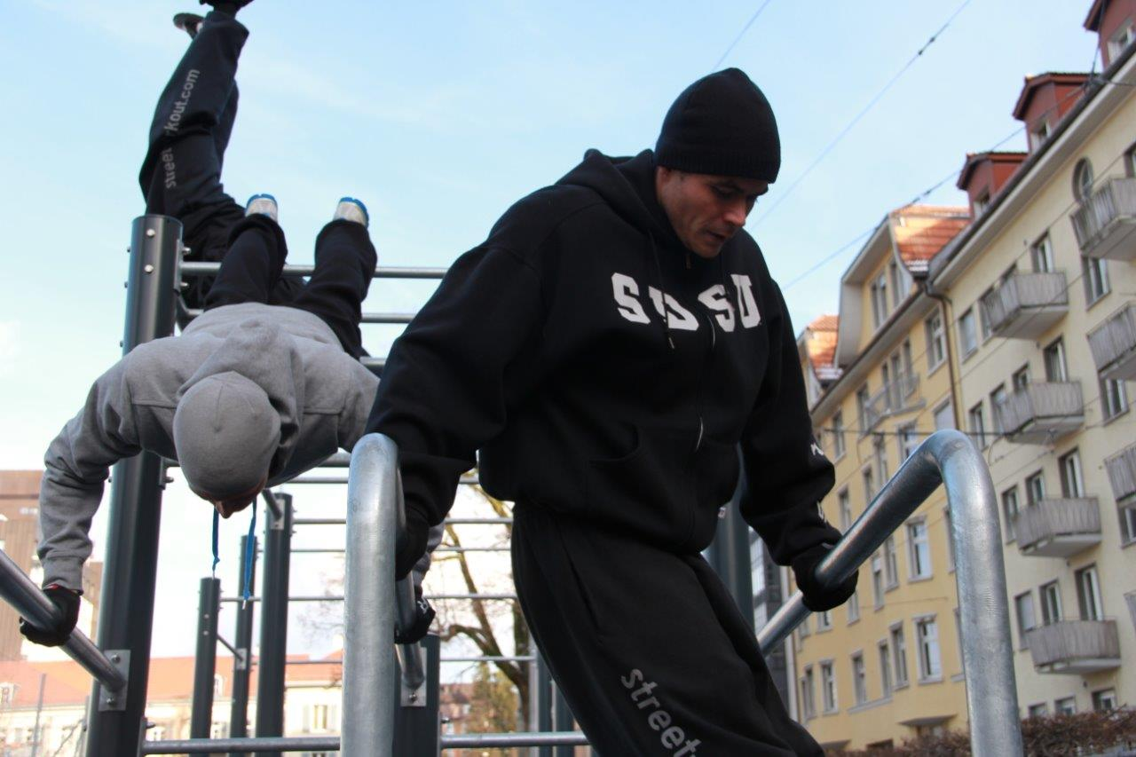 Leserbrief: Street Workout – mehr als ein Trend